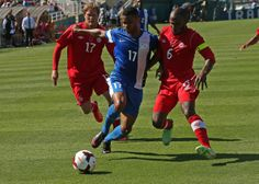 Martinique pulled off a last minute upset of Canada, to start off the 2013 CONCACAF Gold Cup.