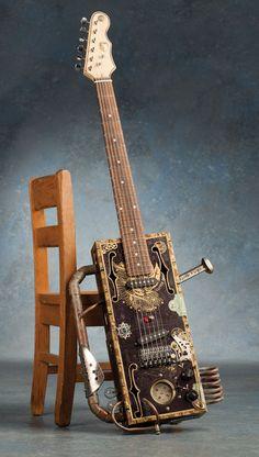 A gallery of cigar box guitars. (via Cigar box guitars: a photo gallery of homemade greatness | MusicRadar.com)