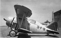 Grumman F2F-1, 9626, VF-3B  Burbank, circa 1936, Ludlow  US Navy fighter of inter wars period. Repository: San Diego Air and Space Museum Archive