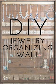 Does your jewelry stay piled up in a drawers and get tangled all the time? Mine did too until I created this DIY shiplap jewelry organizing wall in my master bedroom.  Get the full tutorial on how to make this organizing solution yourself on Modish and Main!