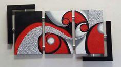 3 Piece Canvas Art, Canvas Wall Art, Wall Art Prints, Creative Wall Decor, Black And White Wall Art, Diy Wall Art, Abstract Wall Art, Acrylic Painting Canvas, Paintings