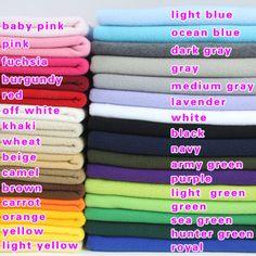 Solid-polar-fleece-fabric-lining-fabric-DIY-handmade-fabric-60-wide-BTY $9.99US per 92cm x 150cm free shipping china