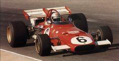 Mario Andretti winning the 1971 South African Grand Prix in a Ferrari Ferrari Scuderia, Ferrari F1, Mario Andretti, American Racing, F1 Drivers, F1 Racing, Automotive Art, Indy Cars, Car And Driver