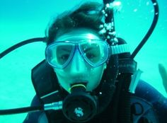Even though I'm a swimmer...I need to conquer my fear of scuba diving