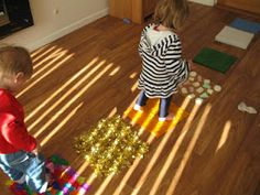 DIY Texture Mats | Pre-school Play