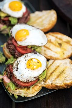 Grilled Lamb Burgers with Red Onion Aioli Recipe - Saveur.comForget the egg and you'd be on the right track. No Aussie would put an egg on lamb, reserve that for a beef burger...