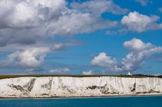 White Cliffs of Dover is the first and the last line of sight for tourists traveling by water between UK and France