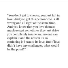 I chose to fall in love with you