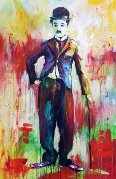 """Cherlie "" by Marta Zawadzka; Acrylic, 2013, Painting"