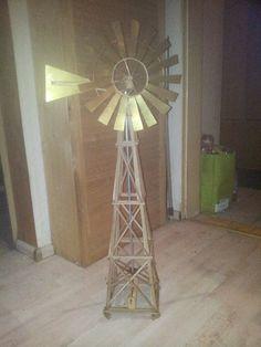 Windmill, Windrad, 1:122,5, Spur G Eigenbau, funktionsfähig