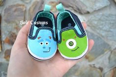 Boutique Custom Hand Painted Disney Pixar Inspired by SoleCustoms, $20.00