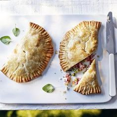 Cakes and biscuits not your baking specialty? Give this gammon pea pasty recipe a try. You might surprise yourself.