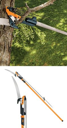 Extendable Pole Saw & Pruner Amazon Home Decor, Gardening Gloves, Cool Tools, Outdoor Power Equipment, Lawn, How To Look Better, Floral Design, Green, Plants