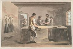 1813 - Havell - The cloth dresser.