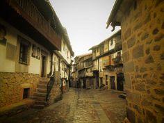 Calle Miguel Angel Maillo desde el Humilladero del siglo XVIII