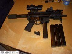 9Mm Ar Pistol | For Sale: CMMG AR-15 9mm pistol UPGRADED