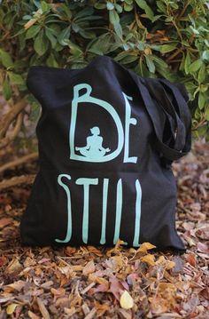 Be Still - Yoga Tote Bag