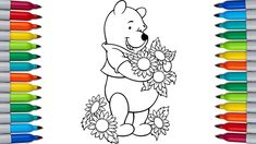Let's color WINNIE THE POOH | WINNIE THE POOH Coloring Pages Paw Patrol Coloring Pages, Bunny Coloring Pages, Coloring Pages For Kids, Color Bug, Bugs Bunny, Scooby Doo, Minions, Winnie The Pooh, Let It Be