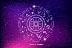 Zodiac wheel on a space background Free Vector Astrology Zodiac, Pisces, Taurus, Aquarius, Space Backgrounds, Backgrounds Free, Horoscope Signs, Zodiac Signs, Zodiac Circle