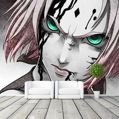 Naruto Haruno Sakura Photo Wallpaper  Wall Mural 3D Japanese anime wallpaper Designer Art Room decor Bedroom Office Living room
