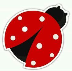 Idea Mariquita Ladybug Crafts, Ladybug Party, Love Bugs, Baby Scrapbook, Punch Art, Miraculous Ladybug, Paper Goods, Creations, Paper Crafts
