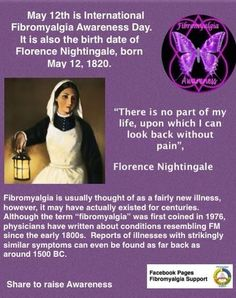 Fibromyalgia awareness day!