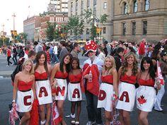 Canada Day Ottawa - missing it big time