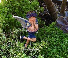 Miniature Fairy cicely mary barker flower by DreamFairyGardens