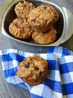 Healthy Morning Glory Muffins | Healthy Ideas for Kids