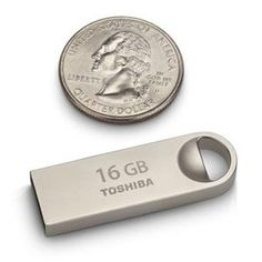 Toshiba Retail Hard Drives<br / />16GB Metal USB 2.0 Flash Drive