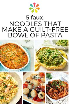 1366 best healthy food recipes images on pinterest cooking recipes 5 faux noodles that make a guilt free bowl of pasta healthy vegetarian recipesdiabetic forumfinder Image collections