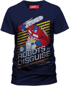Transformers Robots in Disguise T Shirt Homme Man Taille Size M CID | eBay