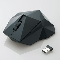 Elecom M-NE4DL Orime Laser Mouse by Nendo