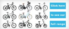 All range of VOLT bikes from electric bike store
