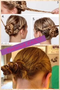 The top photos have well-staged lighting, plus the hairstyle is clearly done by a professional, and difficult to re-create at home if you don't have eyes in the back of your head.