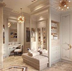 New ideas for bedroom interior luxury dream closets Dressing Room Closet, Dressing Room Design, Dressing Rooms, Dressing Area, Dressing Tables, Luxury Closet, Bedroom Wardrobe, Dream Closets, Open Closets