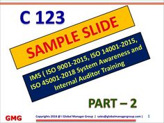 Top 5 Iso 18000 Ppt [Christ Image Assembly]