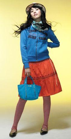Foto Han Hyo Joo Pose untuk Crencia Fashion