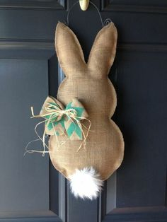 Osterkranz selber machen - Osterhase nähen By far the most early Easter time items, with Diy Osterschmuck, Easy Diy, Easter Crafts For Adults, Easter Ideas, Kids Crafts, Diy Crafts Easter, Easy Crafts, Diy Ostern, Diy Easter Decorations