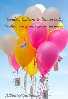 Birthday wishes to someone in Heaven