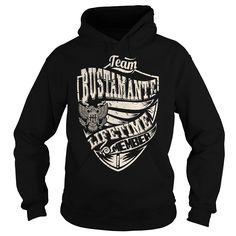 Last Name, Surname Tshirts - Team BUSTAMANTE Lifetime Member Eagle