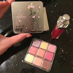 New Summer Favorite Makeup 💄💋@lancomeofficial @diormakeup #lipgloss #pastel #lancome #highlights #summer