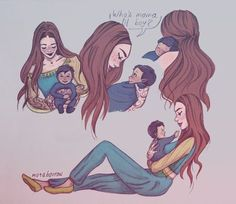 "417 Me gusta, 6 comentarios - Iris the Booklover (@illyrian_baby) en Instagram: ""Feyre and her son Creds to Mara Barrow"""