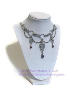 Hey, I found this really awesome Etsy listing at https://www.etsy.com/listing/215956103/chainmaille-statement-necklace-choker