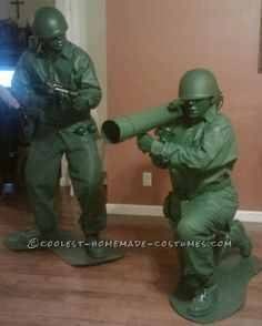 Coolest, Most Realistic Green Plastic Army Men Costumes
