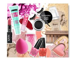 Beauty favs by monmondefou on Polyvore featuring beauty, Sephora Collection, Urban Decay, L'Oréal Paris, Bobbi Brown Cosmetics, NYX, Boohoo, Too Faced Cosmetics, Benefit and Givenchy