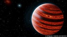 The new world, known as 51 Eridani b, is only 20 million years old - a toddler by astronomical standards.  The alien world could yield clues to the formation of our Solar System, which has an unusual lay-out.  The find was made by the Gemini Planet Imager (GPI), which looks for faint, young planets orbiting bright, relatively nearby stars.