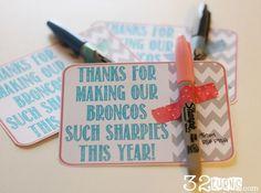 Sharpie Teacher Appreciation Gift