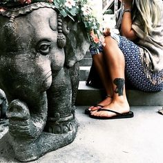 Image via We Heart It #elephant #grunge #hipster #indie #tattoo #travel #tumblr #wallpaper