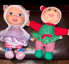 includes two mini cabbage patch doll babies smoke free/ pet free home Cabbage Patch Kids Dolls, Baby Bundles, Daughter Love, Kids Toys, Badge, Patches, Smoke Free, Christmas Ornaments, Pets